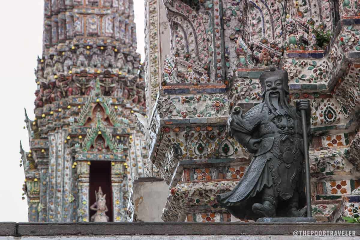 One of the statues around Wat Arun