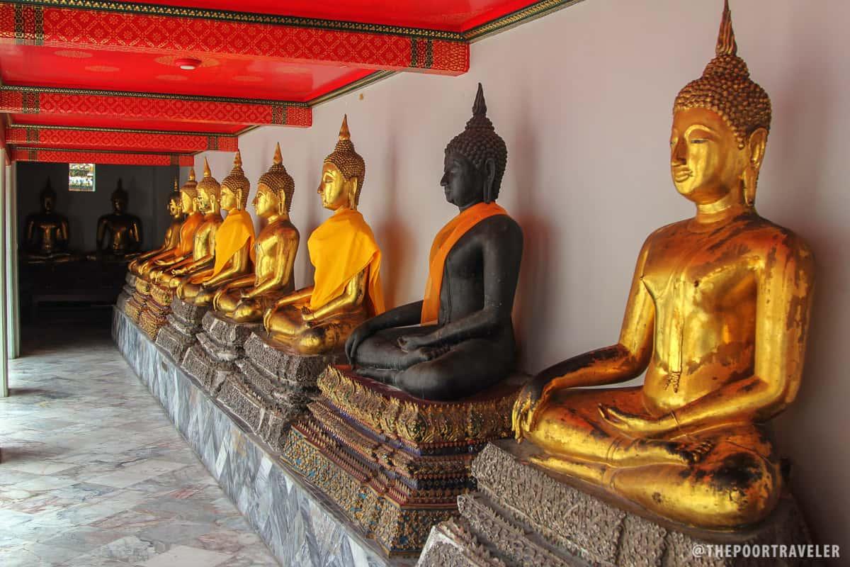 wat pho architecture bangkok