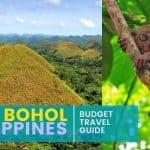 BOHOL: Budget Travel Guide