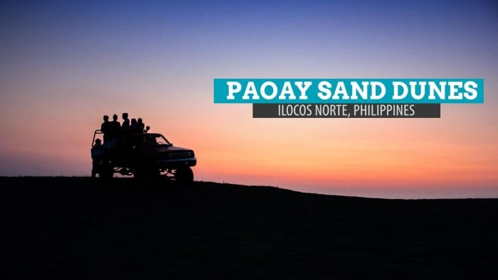 Paoay Sand Dunes: Getting Down and Dirty in Ilocos Norte, Philippines