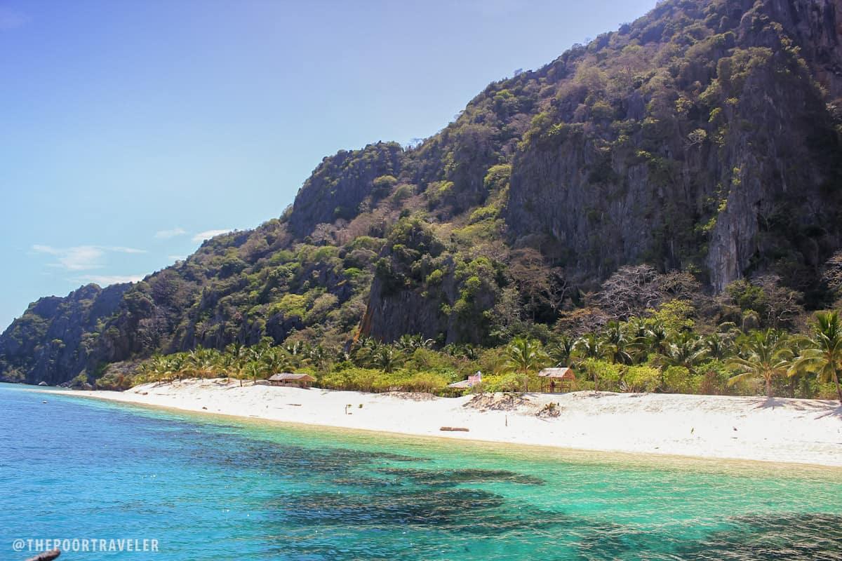 Black Island aka Malajon Island in Busuanga, Palawan