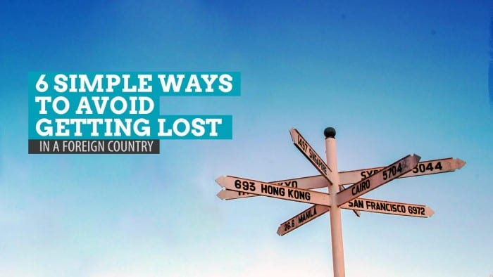 Avoid Getting Lost