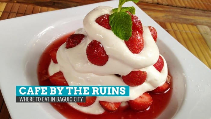 Cafe by the Ruins: Where to Eat in Baguio City, Philippines