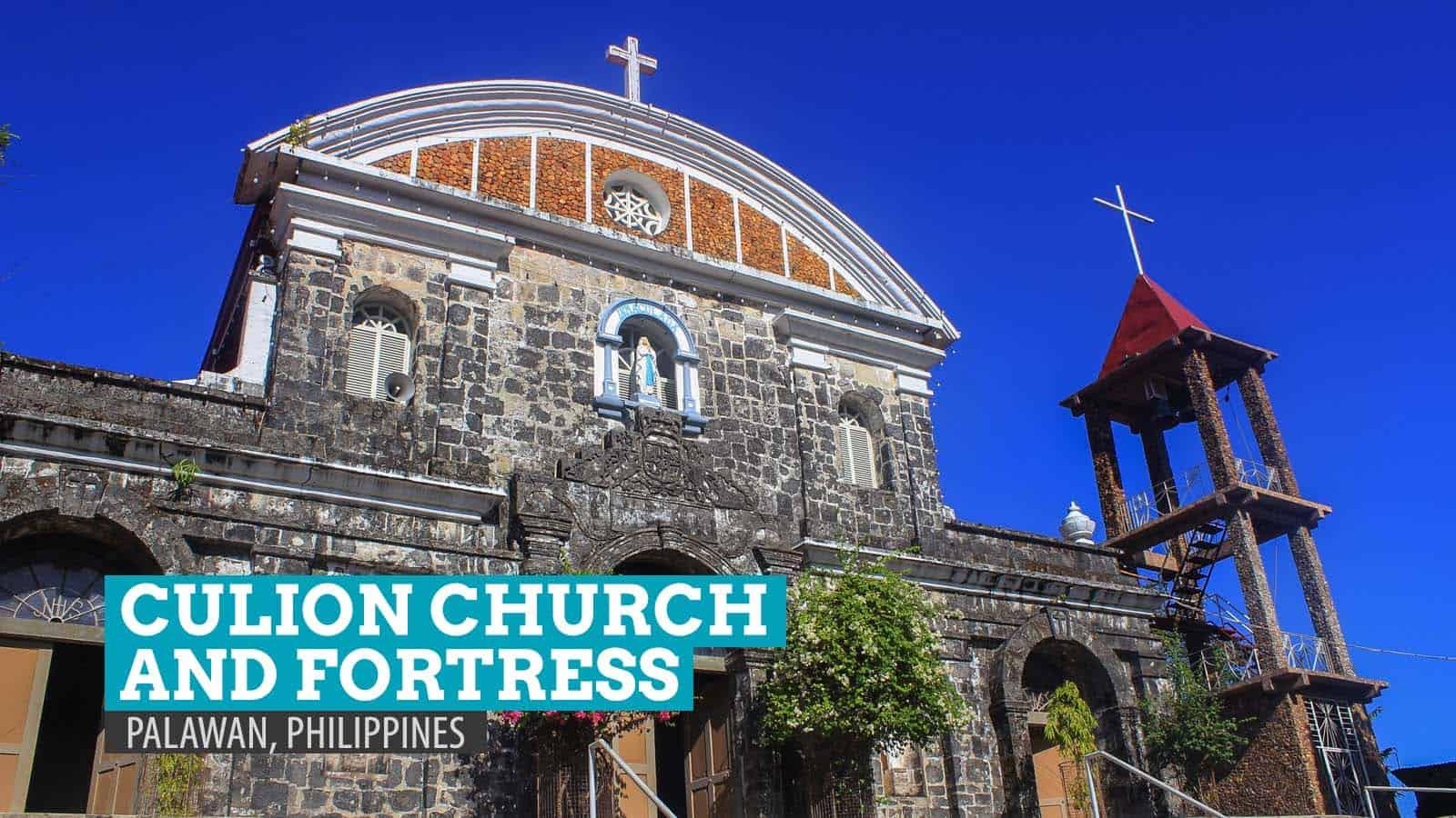 Sunrise at Culion Church and Fortress, Palawan