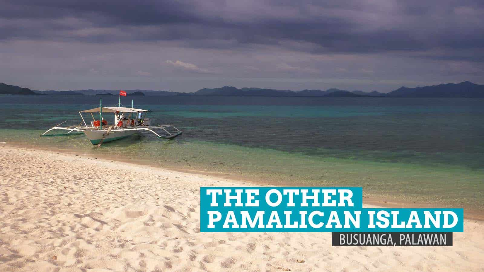 The Other Pamalican Island in Busuanga, Palawan, Philippines