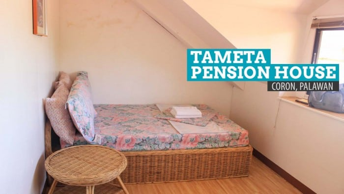Tameta Pension House: Where to Stay in Coron, Palawan, Philippines