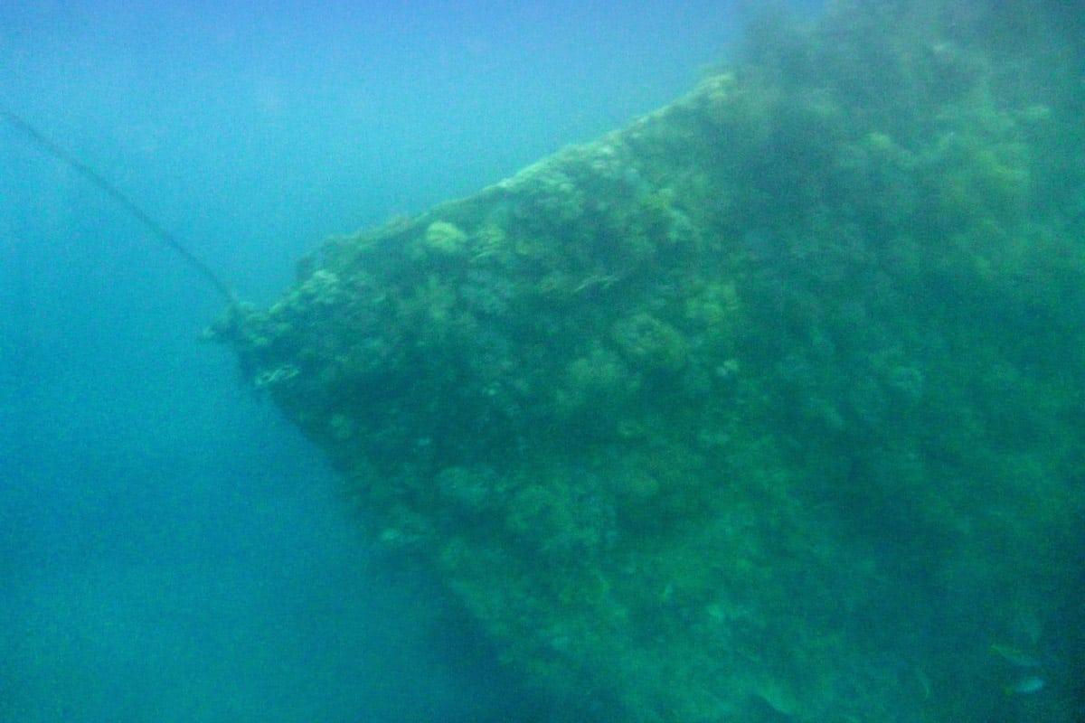 coron shipwreck