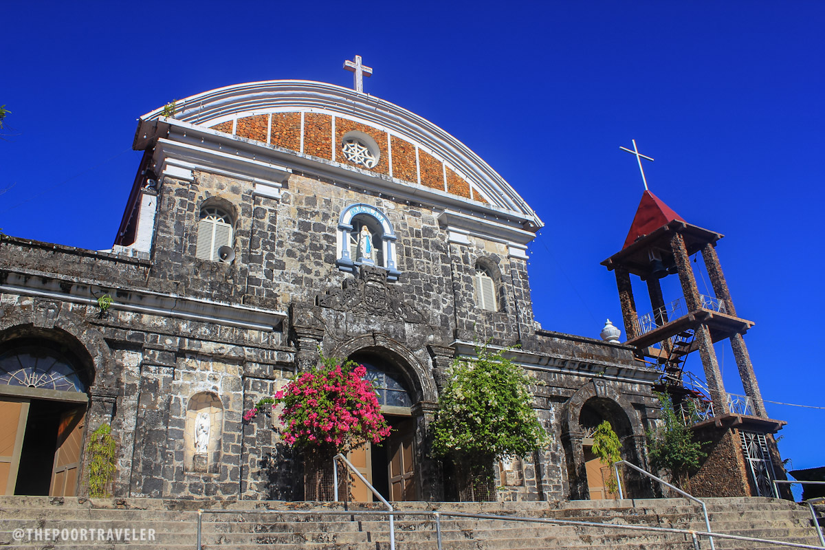 La Inmaculada Concepcion Church, aka Culion Church. Its walls used to be part of an old fortress