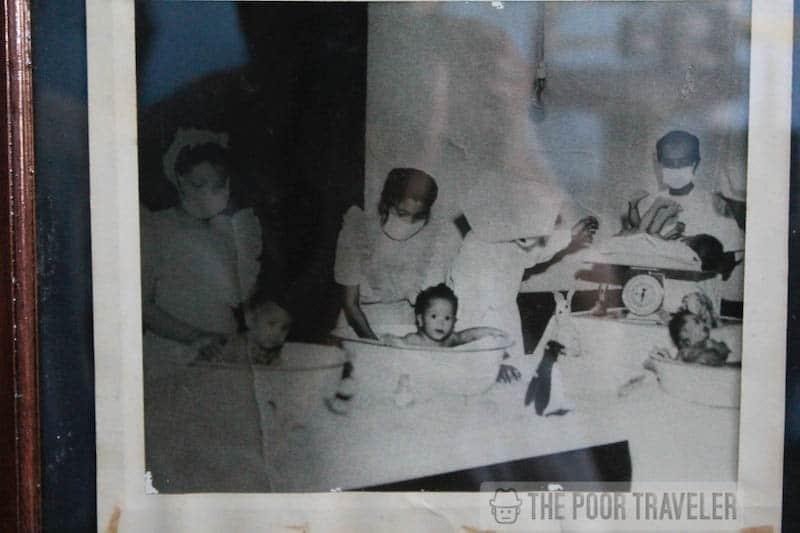 An actual photo of the nursery
