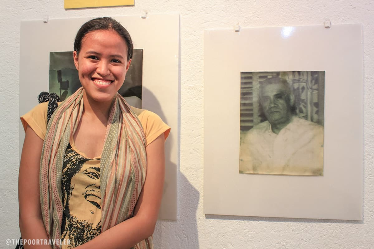 Mica and her great grandfather, Dr. Jose Rodriguez