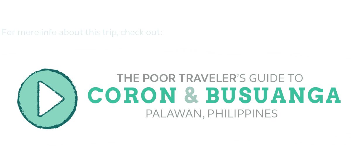 CORON BUDGET TRAVEL GUIDE