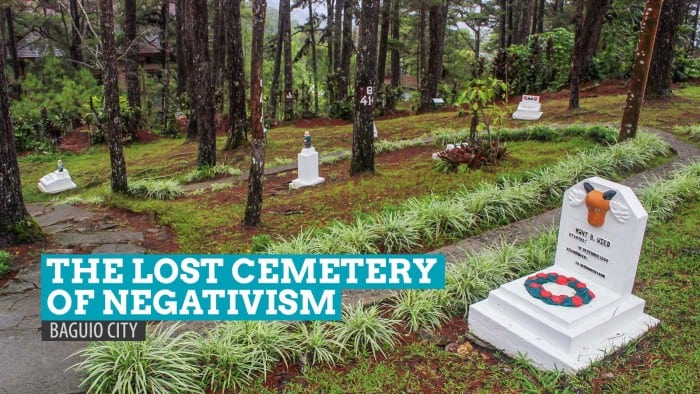 The Lost Cemetery of Negativism: Burying Bad Vibes in Baguio City