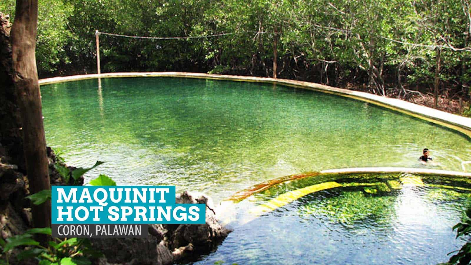 Maquinit Hot Springs: Tub Therapy in Coron, Palawan