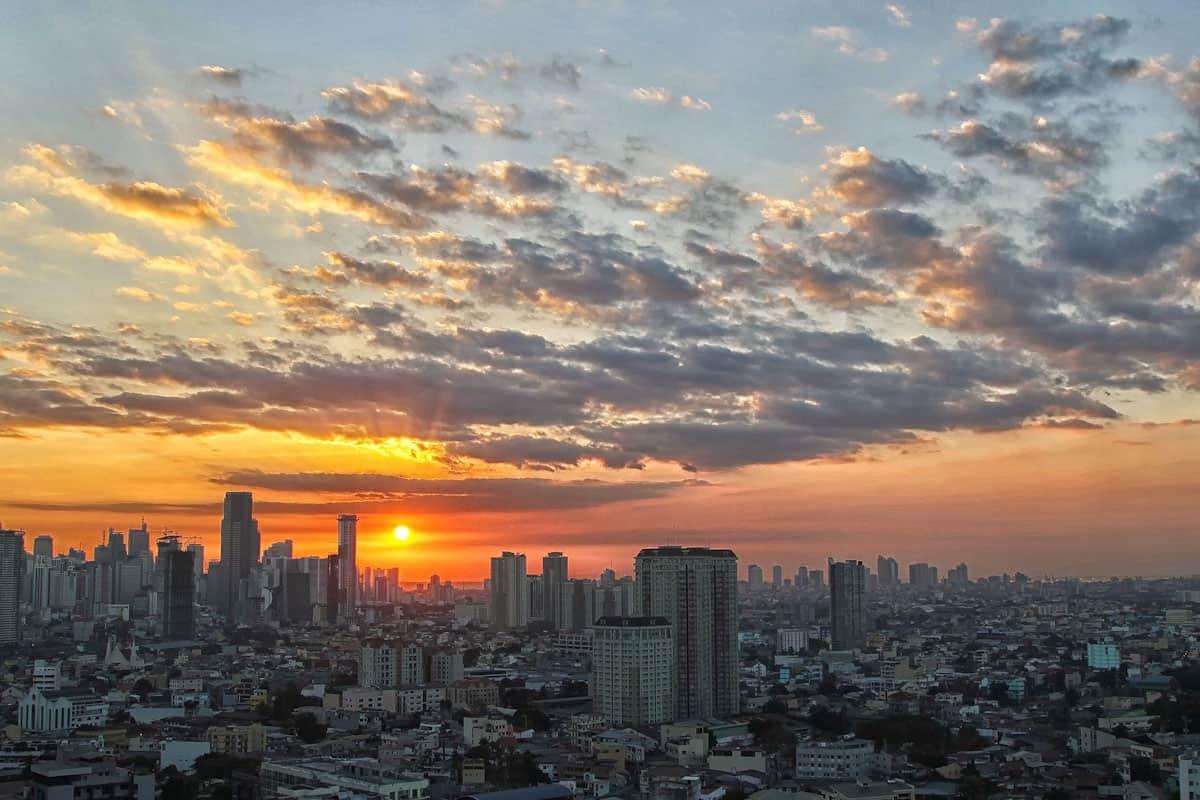 Famous Manila Sunset