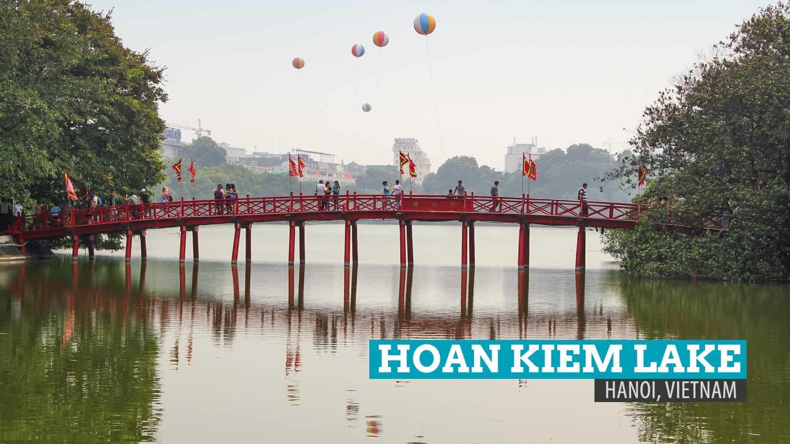 Hoan Kiem Lake: The Legend of the Restored Sword of Hanoi, Vietnam