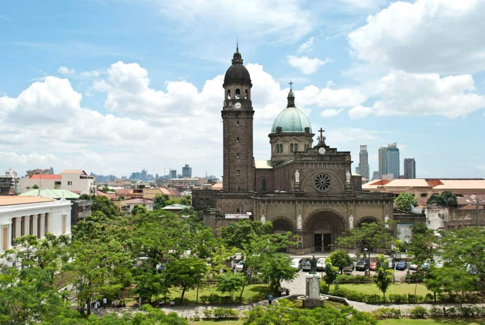 Manila Cathedral. Photo by Jay Leano