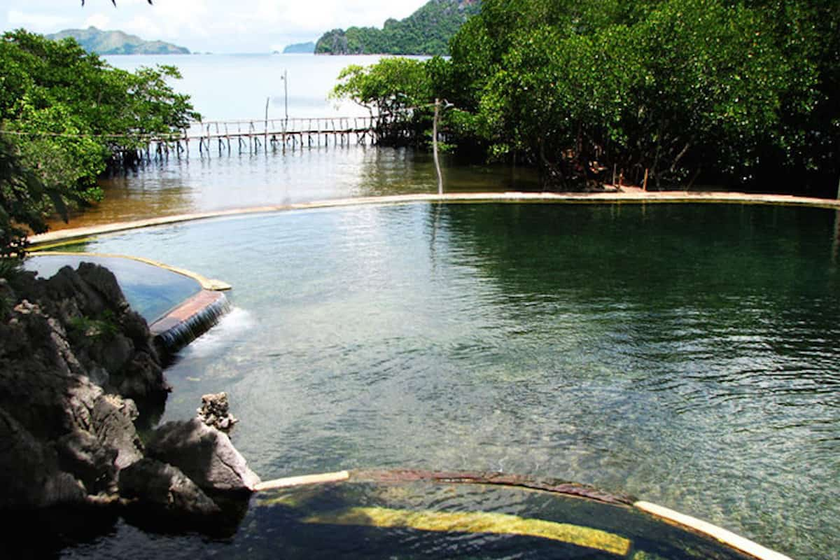 Maquinit Hot Springs Tub Therapy In Coron Palawan The