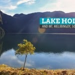 Lake Holon and Mt. Melibingoy (Mt. Parker) in South Cotabato, Philippines