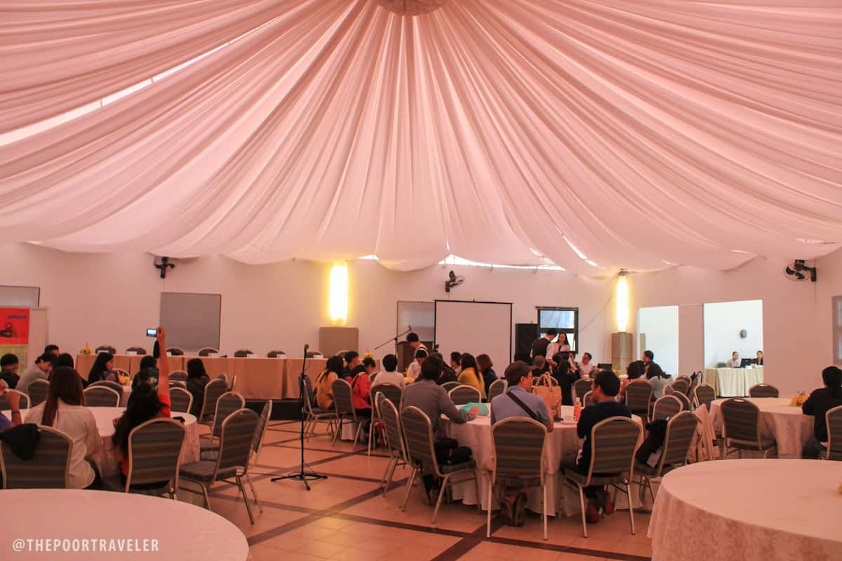 Azalea Residences tent: ideal for social and corporate events