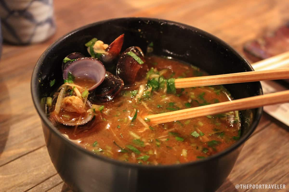 Clam Miso Soup (JPY 520)