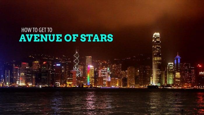 TSIM SHA TSUI to AVENUE OF STARS, HONG KONG