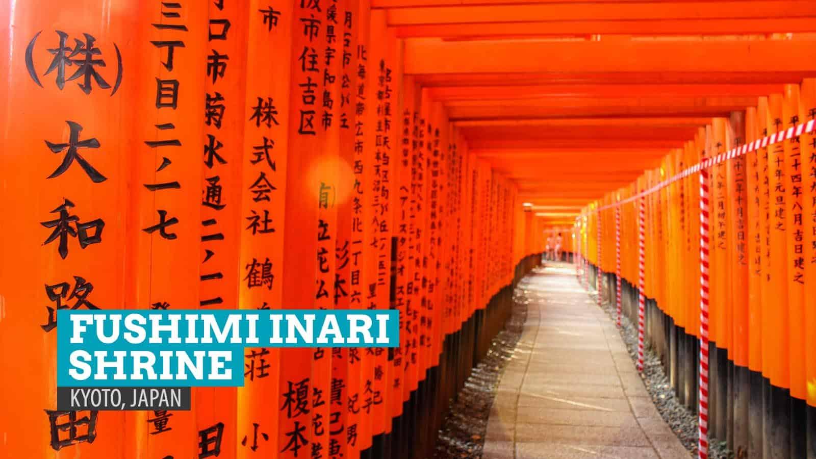 FUSHIMI INARI SHRINE: The Thousand Torii Gates of Kyoto, Japan