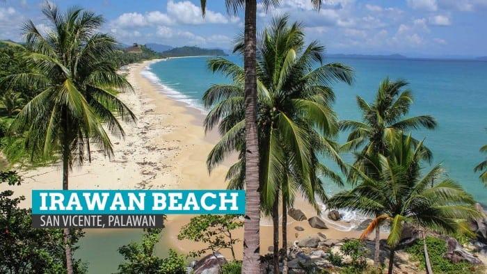 Uncovering Irawan Beach: San Vicente, Palawan, Philippines
