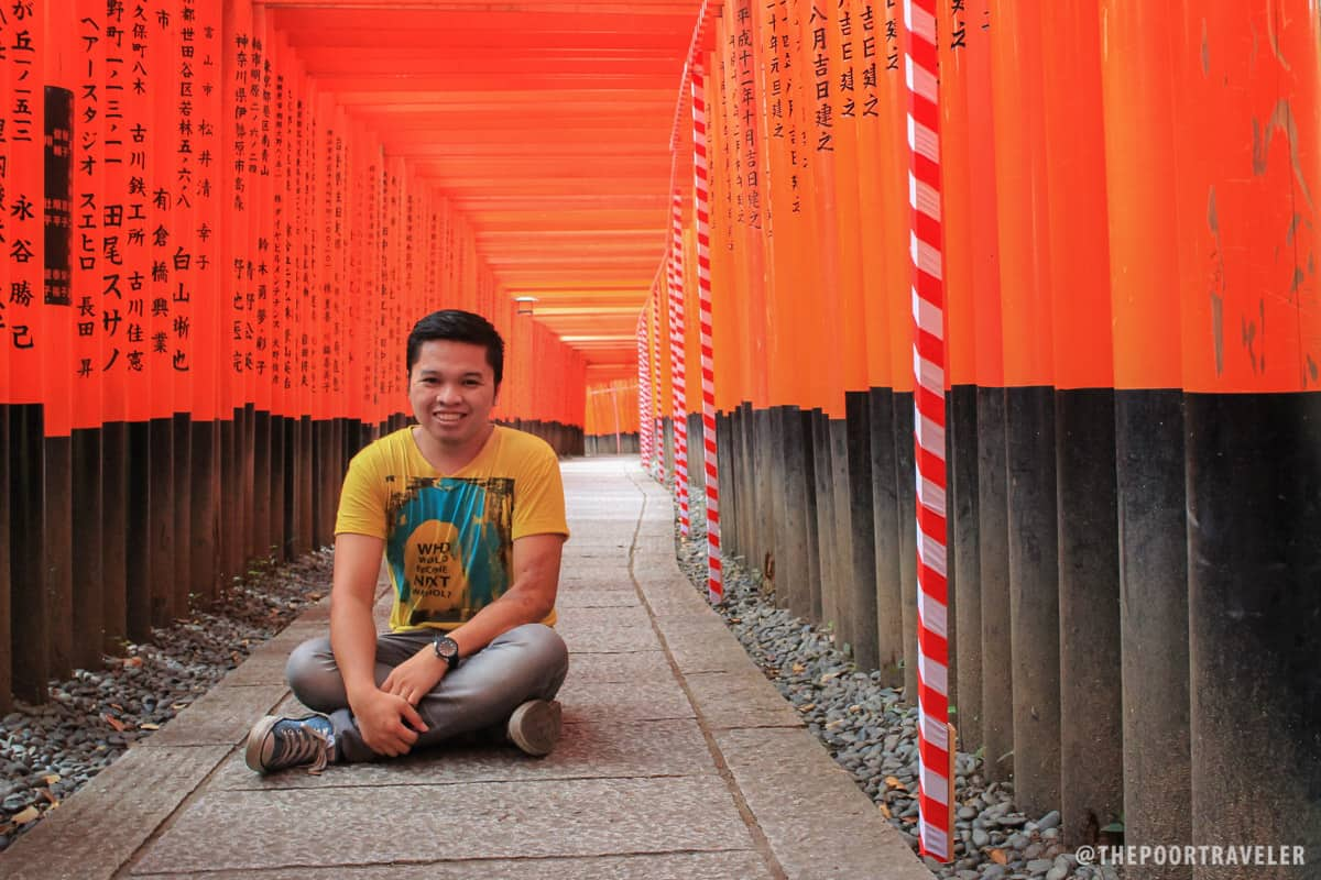 Deep in the orange maze
