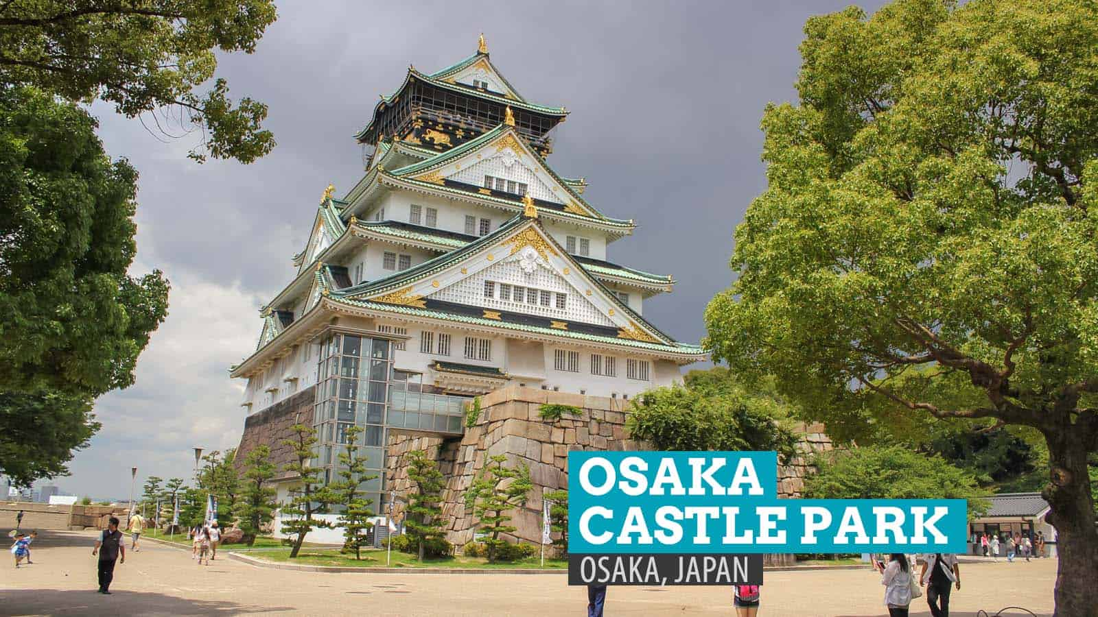 Osaka Castle Park, Japan: Toyotomi's Dream