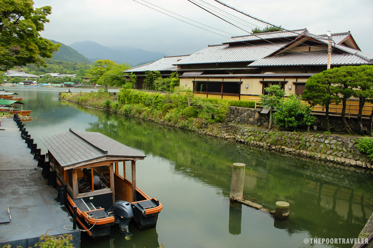 Boating is another popular activity in Arashiyama