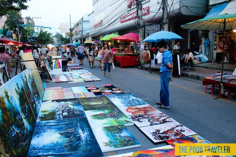Chiang mai weekend markets thailand cravings and