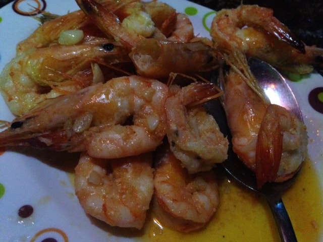Butter Garlic Shrimps. So fresh and flavorful!