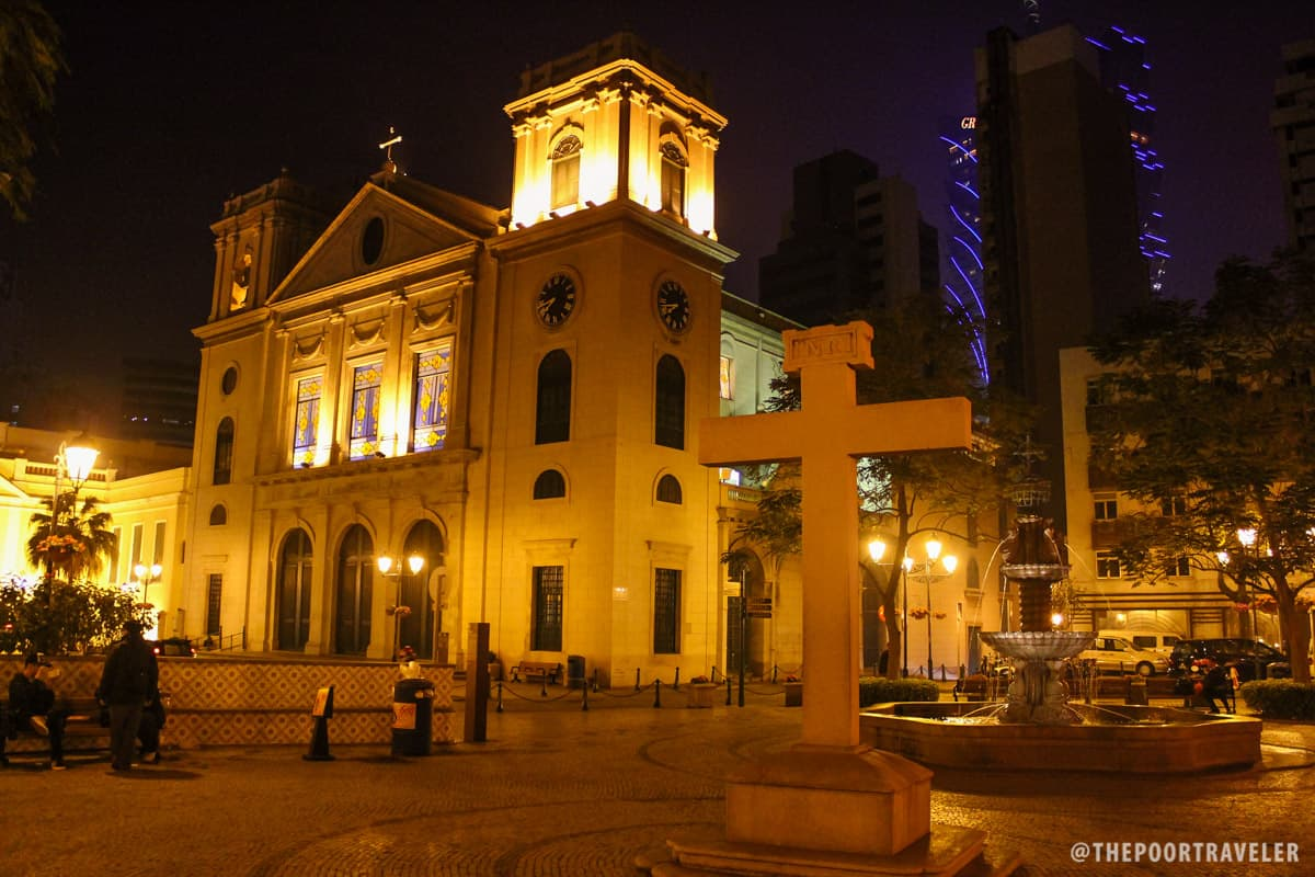 cathedral square macau