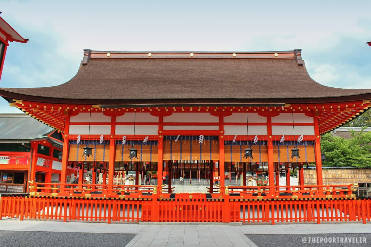 Another building at the Fushimi Inari site