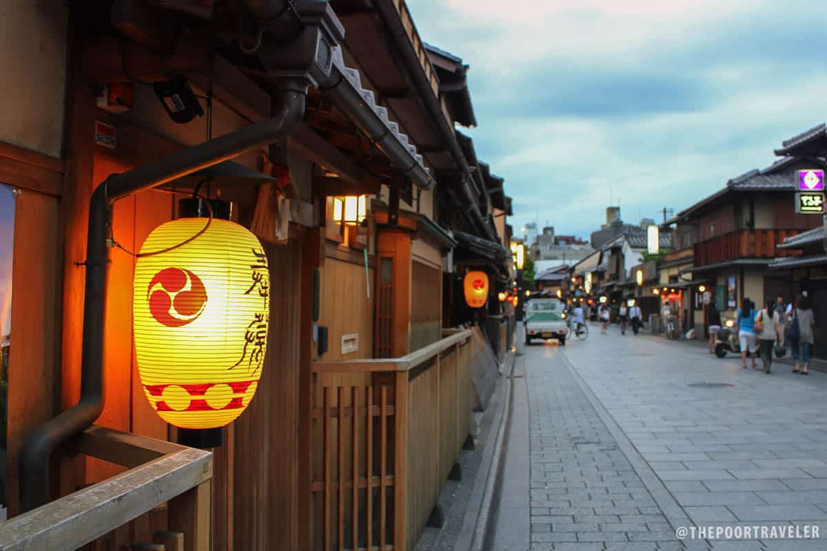 Hanami-koji Street