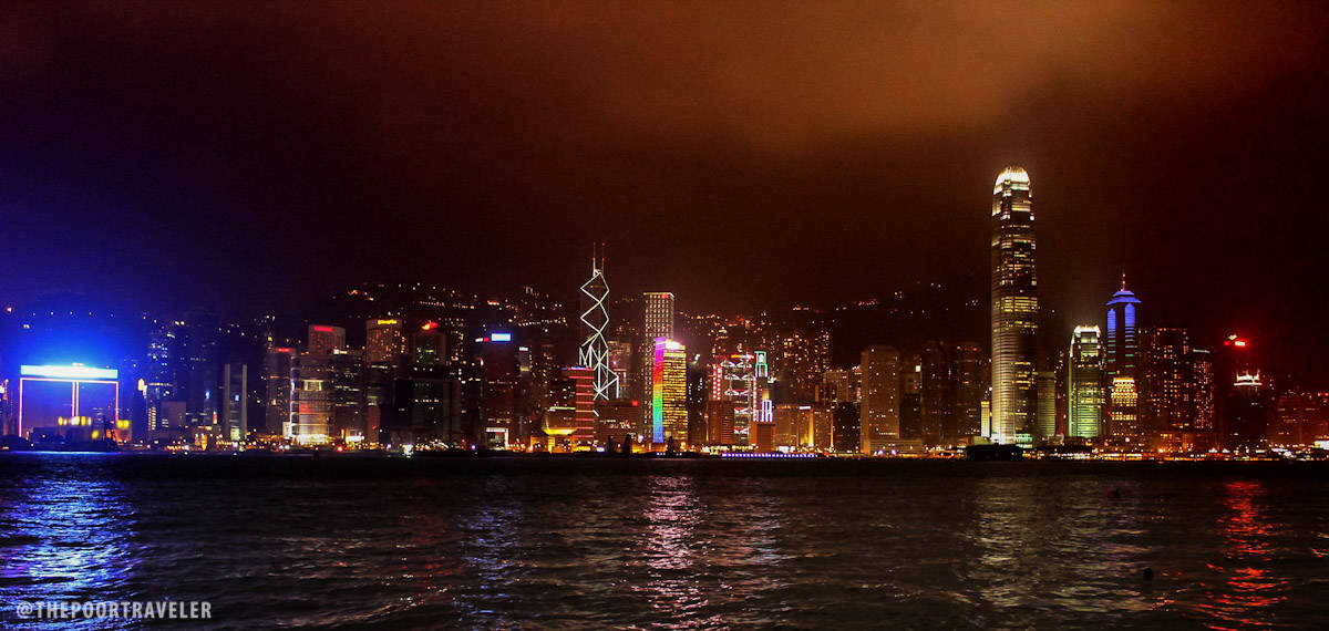 Hong Kong Island's stellar skyline