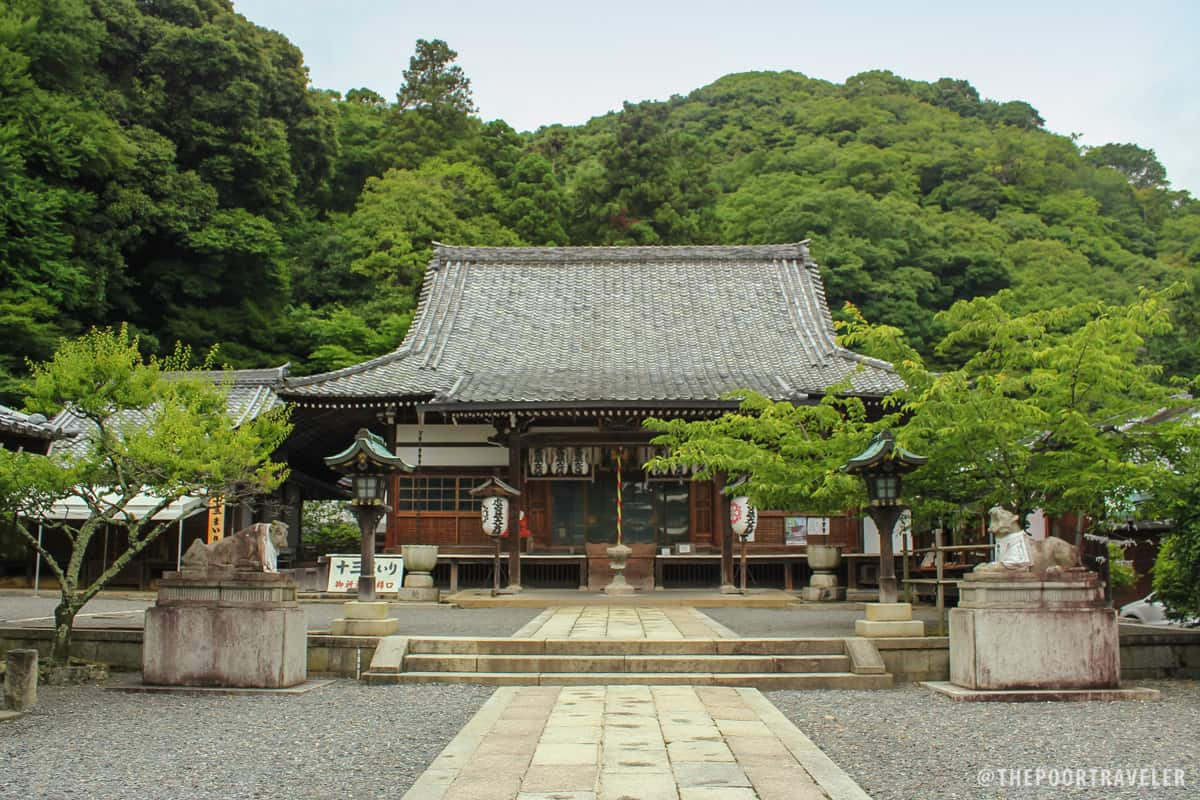 The charming Horinji Temple