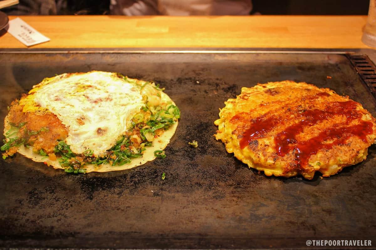 Osaka's Okonomiyaki VS Kyoto's Negiyaki