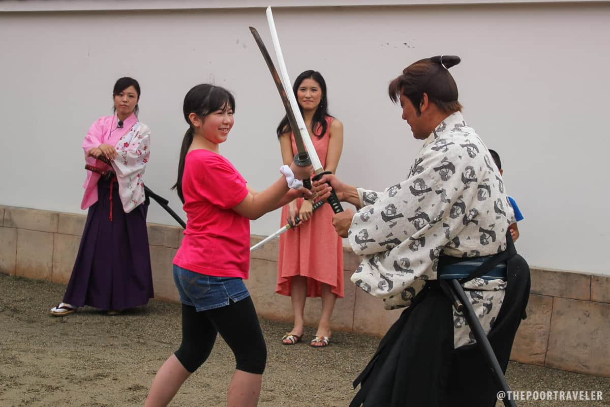 Samurai Fighting Lessons