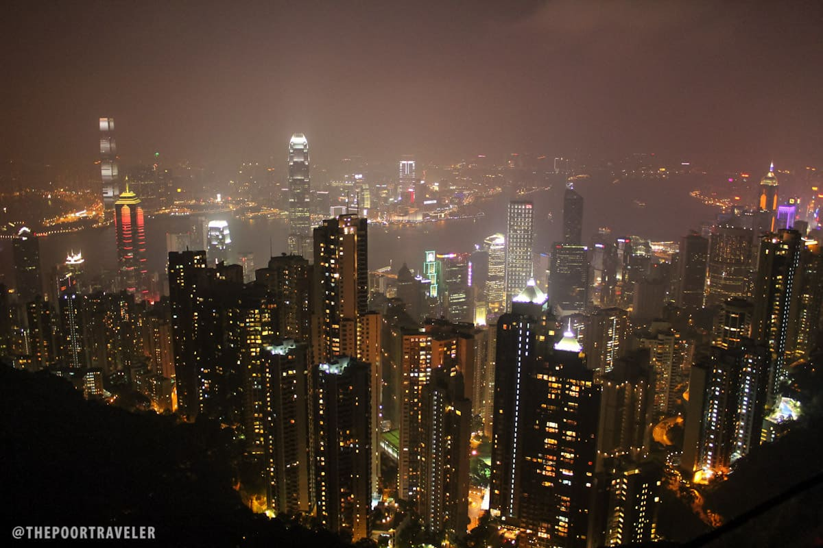 Victoria Harbor from the Peak