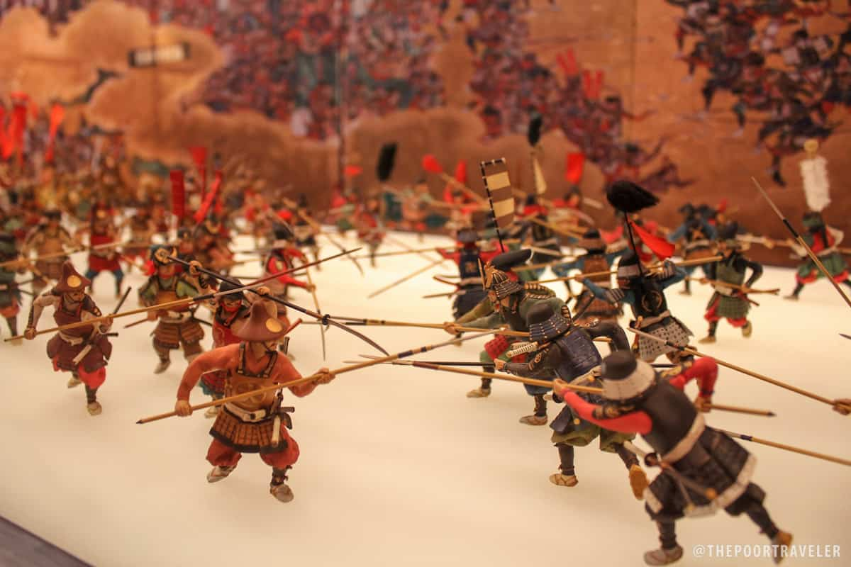 Yukimura Sanada's troops vs Tadanao Masudaira's troops during the Summer War of Osaka