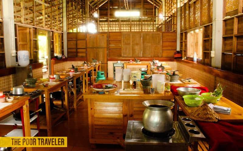 Our kitchen-slash-classroom