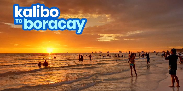 HOW TO GET TO BORACAY FROM KALIBO AIRPORT