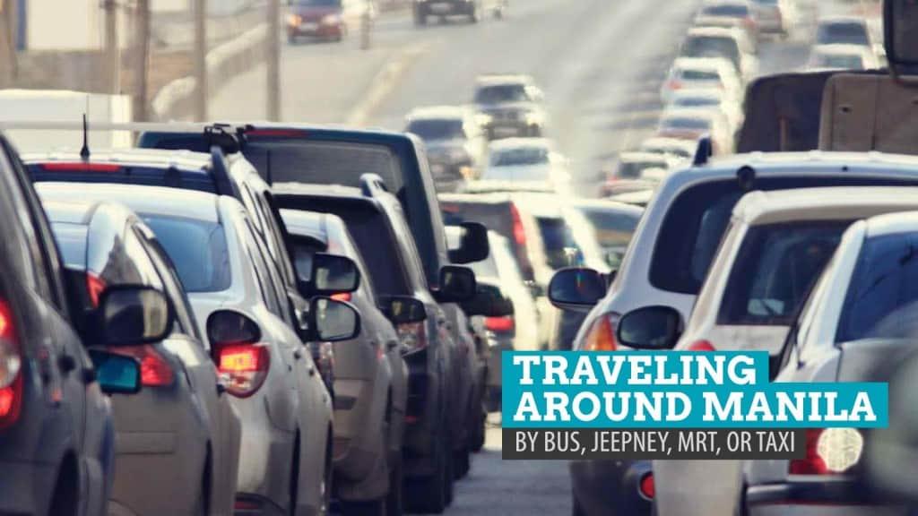 HOW TO GET AROUND MANILA: By MRT, P2P Bus, Regular Bus, Taxi