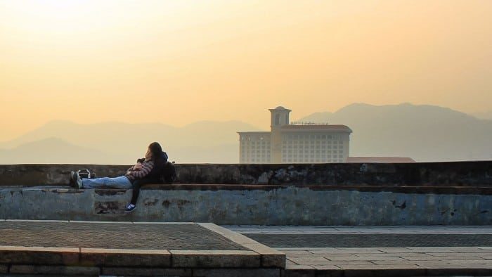 Snapshot: Sweet Surrender at Mount Fortress, Macau