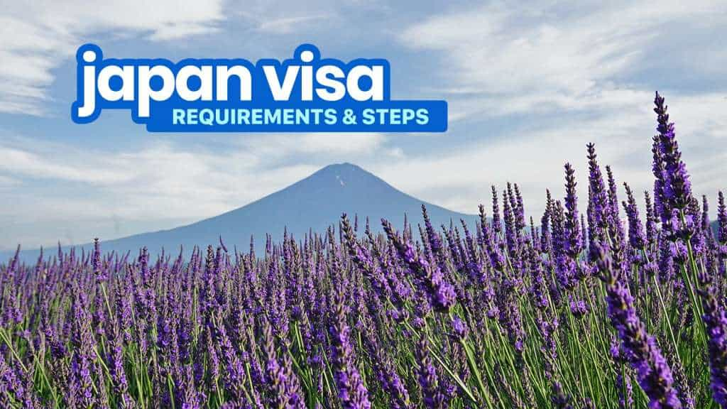Updated! JAPAN VISA REQUIREMENTS & Application for Tourists 2018!