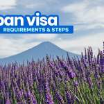 Latest! JAPAN VISA REQUIREMENTS & Application for Tourists 2018!