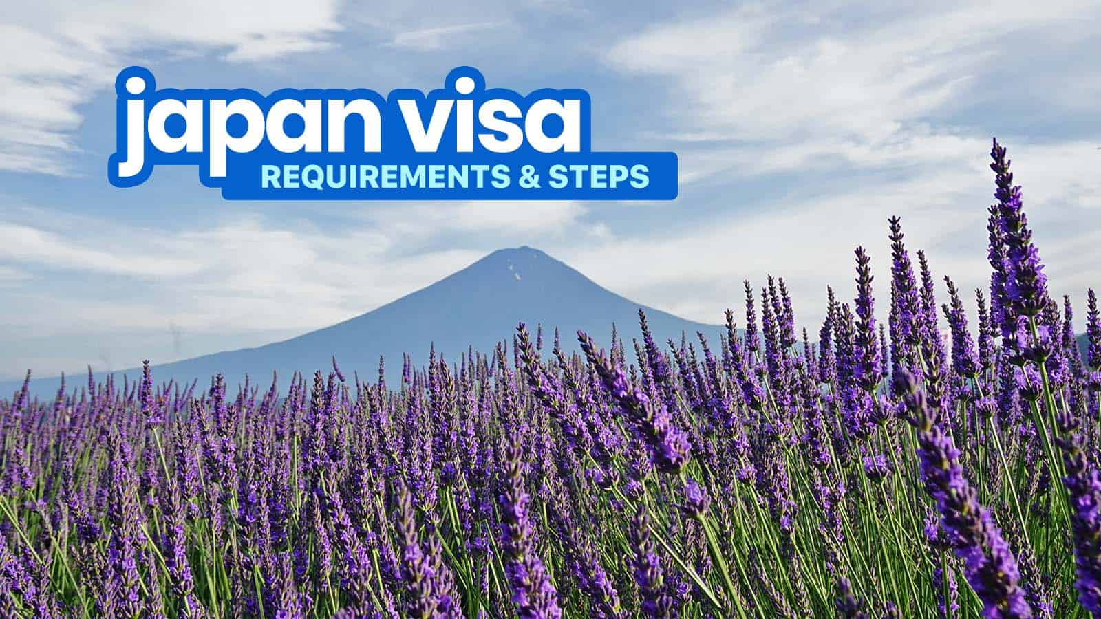 2019 JAPAN VISA REQUIREMENTS & Application for Tourists | The Poor