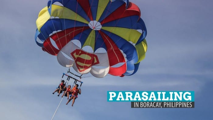 Parasailing in Boracay: 15 Minutes of Fear and Fancy