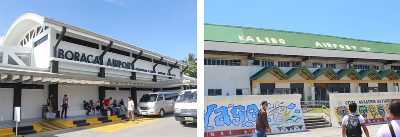 Caticlan Airport and Kalibo Airport